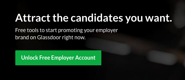 Glassdoor Employer Account
