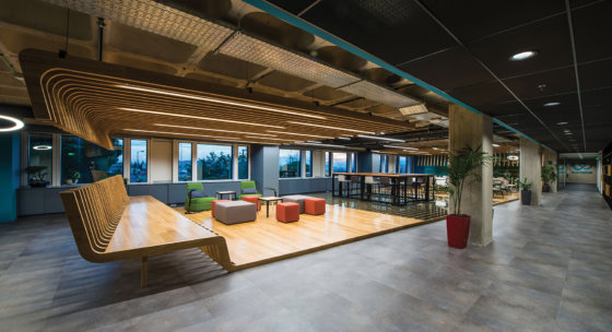 Workable's sales team – the offices in Athens